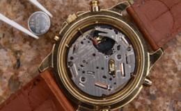 horloge batterij vervangen. horlogeband verwisselen.